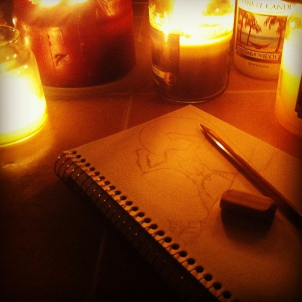 sketch - winter Storm