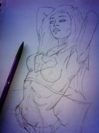 SuperGirl-sketch