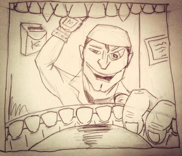 Ash Williams, Dental Hygienist