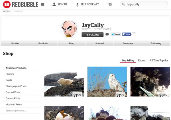 JayCally on Redbubble